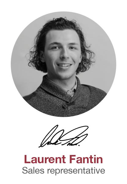Laurent Fantin - Sales representative