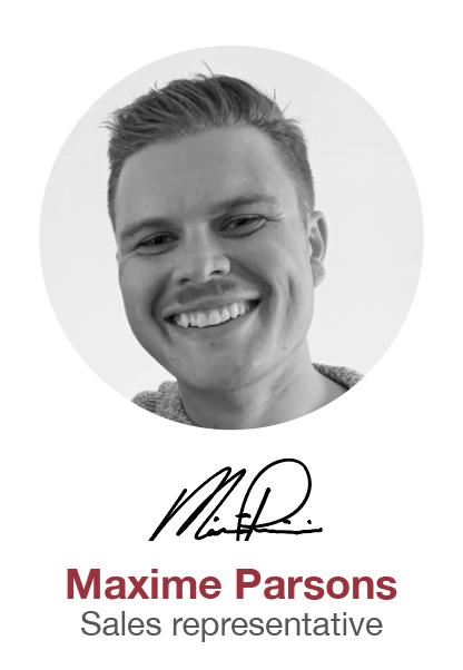 Maxime Parsons - Sales representative